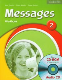 messages 2 workbook with audio cd cd-rom - ISBN: 9780521696746