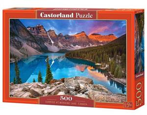 puzzle 500 el b-53001 sunrise at moraine lake canada - ISBN: 5904438053001