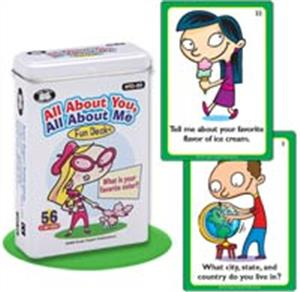 all about you all about me fun deck - ISBNx: 9781586504861