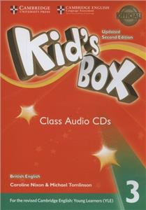 kids box 3 updated 2ed for 2018 yle exams class audio cds - ISBN: 9781316628980