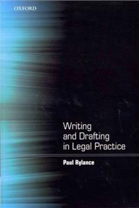 writing and drafting in legal practice - ISBN: 9780199589890