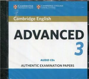 cambridge english advanced 3 cd audio - ISBN: 9781108431231