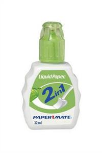 korektor 2 w 1 liquid paper paper mate - ISBN: 3501170889527