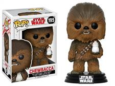 POP! Bobble: Star Wars: E8 TLJ: Chewbacca w/ Porg (POP 7)