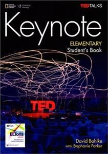 keynote elementary students book  dvd-rom  online - ISBN: 9781337388696