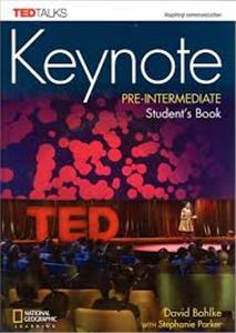 keynote pre-intermediate students book  dvd-rom  online - ISBN: 9781337388702