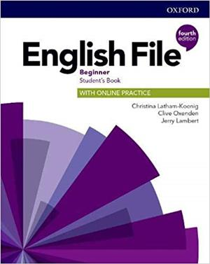 english file fourth edition beginner students book with online practice - ISBN: 9780194029803