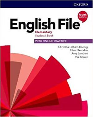 english file fourth edition elementary students book with online practice - ISBNx: 9780194031592