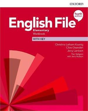 english file fourth edition elementary workbook with key - ISBNx: 9780194032896