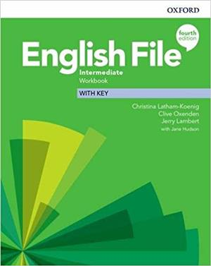 english file fourth edition intermediate workbook with key - ISBNx: 9780194036108