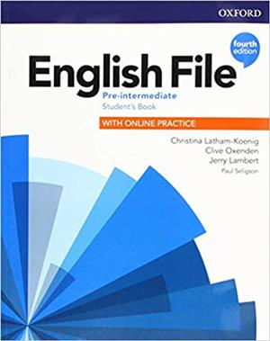 english file fourth edition pre-intermediate students book with online practice - ISBNx: 9780194037419