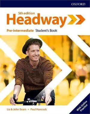 headway fifth edition pre-intermediate students book with online practice - ISBN: 9780194527699
