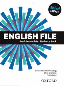 english file third edition pre-intermediate students book - ISBNx: 9780194598576