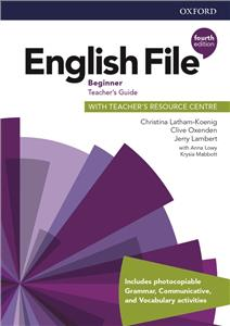 english file fourth edition beginner teachers guide with teachers resource centre - ISBN: 9780194029940