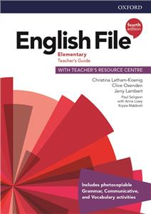 english file fourth edition elementary teachers guide with teachers resource centre - ISBN: 9780194032766