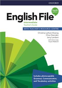 english file fourth edition intermediate teachers guide with teachers resource centre - ISBN: 9780194035972