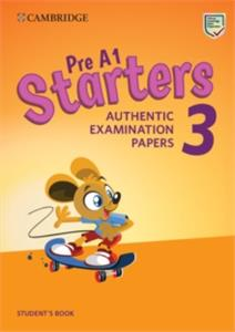 cambridge english starters 3 students book - ISBN: 9781108465113