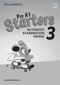 cambridge english starters 3 answear - ISBN: 9781108465175