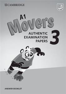 cambridge english movers 3 answear booklet - ISBN: 9781108465182