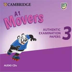 cambridge english movers 3 audio cd - ISBN: 9781108465236