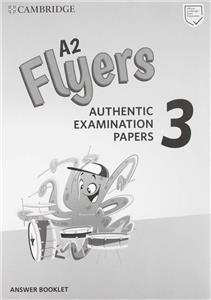 cambridge english flyers 3 answear booklet - ISBN: 9781108465205