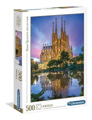 puzzle high quality collection barcelona 500 - ISBN: 8005125350629