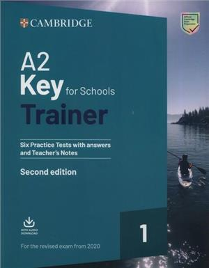 a2 key for schools trainer 1 for the revised exam from 2020 - ISBN: 9781108525800