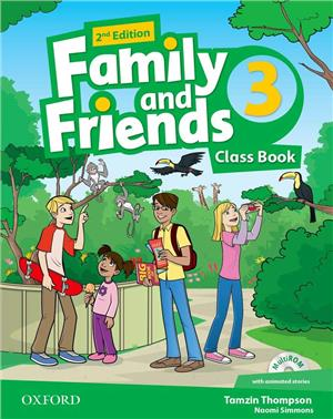 family and friends 2 edycja 3 class book - ISBN: 9780194808408