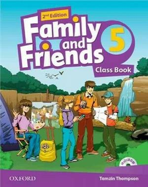 family and friends 2 edycja 5 class book - ISBN: 9780194808446