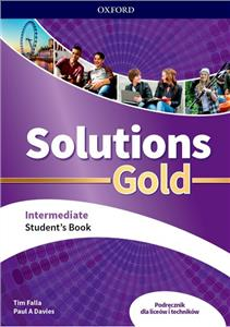 solutions gold intermediate podręcznik - ISBNx: 9780194912853