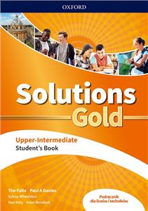 solutions gold upper-intermediate podręcznik - ISBNx: 9780194912884
