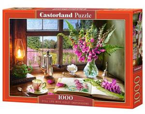 puzzle 1000 still life with violet snapdragons - ISBN: 5904438104345