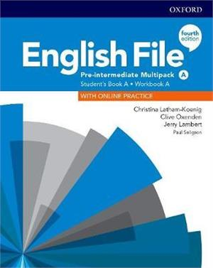 english file fourth edition pre-intermediate multipack a students book a workbook a with online practice - ISBN: 9780194037303