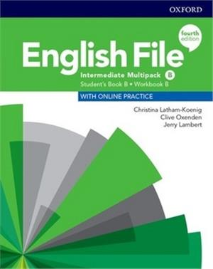 english file fourth edition intermediate multipack b students book b workbook b with online practice - ISBN: 9780194035743