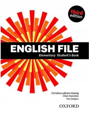 english file third edition elementary students book - ISBN: 9780194598569