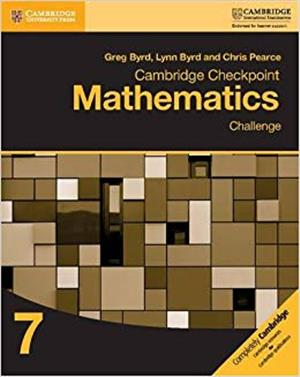 cambridge checkpoint mathematics challenge workbook 7 - ISBN: 9781316637418
