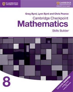 cambridge checkpoint mathematics skills builder workbook 8 - ISBN: 9781316637395