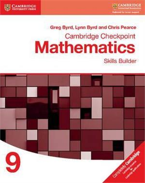 cambridge checkpoint mathematics skills builder workbook 9 - ISBN: 9781316637401