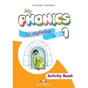 my phonics 1 the alphabet activity book  digi material - ISBN: 9781471563560