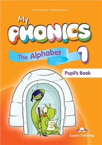 my phonics 1 the alphabet a-z pupils book  digi material - ISBN: 9781471563577