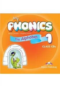 my phonics 1 the alphabet class audio cds - ISBN: 9781471545610
