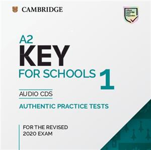 a2 key for schools 1 for the revised 2020 exam audio cds - ISBN: 9781108718332
