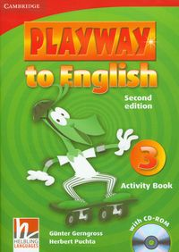 playway to english 3 2nd edition activity book with cd-rom - ISBNx: 9780521131209