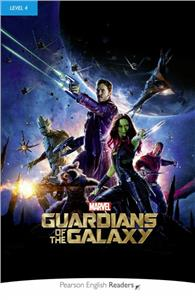 pegr level 4 marvel guardians of the galaxy plus mp3 pearson english readers - ISBNx: 9781292208220