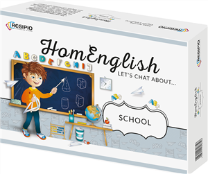 homenglish lets chat about school - ISBNx: 5903111818746