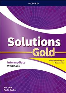 Solutions Gold Intermediate Workbook with e-book Pack 2020