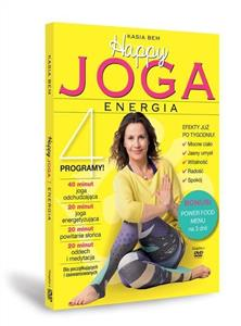 happy joga energia z płytą dvd - ISBN: 9788381642699