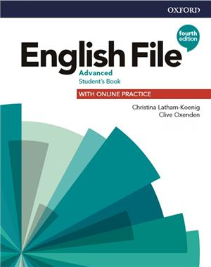english file 4e advanced sb online practice - ISBNx: 9780194038355