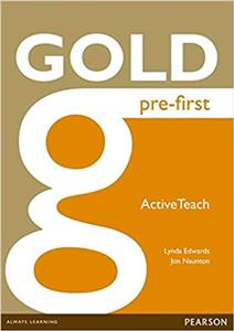 gold pre-first active teach iwb - ISBN: 9781447907213