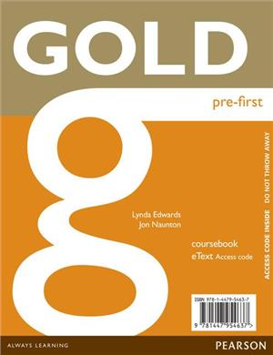 gold pre-first etext cb accesscard - ISBN: 9781447954637